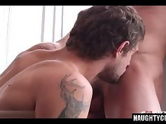 Big dick gay anal sex and cumshot